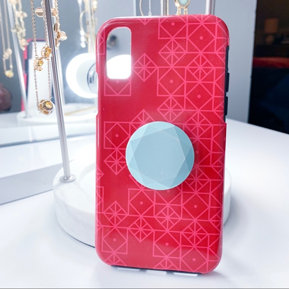promo code c80b6 c805b iPhone X Case with Popsocket